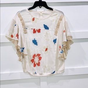 Anthropology TINY Brand blouse - S